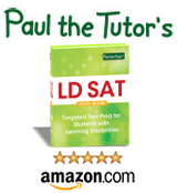 LD SAT Study Guide: Test Prep and Strategies for Students with Learning Disabilities