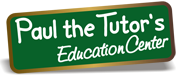 Paul the Tutor's Education Center Logo